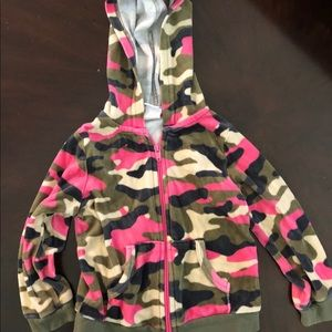 Healthtex camouflage hooded jacket size 24 months